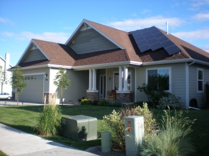 Electricity from the sun! Home PV System.