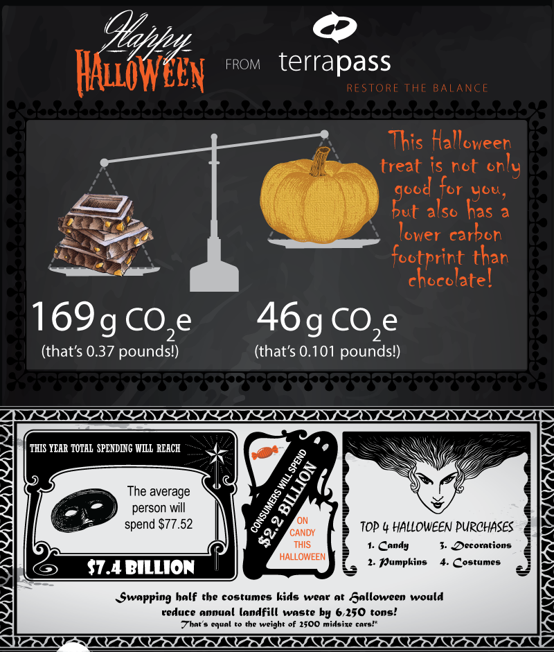 Chocolate vs. Pumpkin Seeds: Which Halloween treat has the lowest carbon footprint?