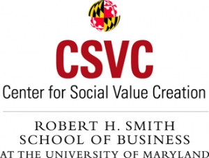 Center for Social Value Creation at the University of Maryland banner