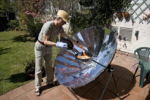 Solar Grill reduces carbon footprint