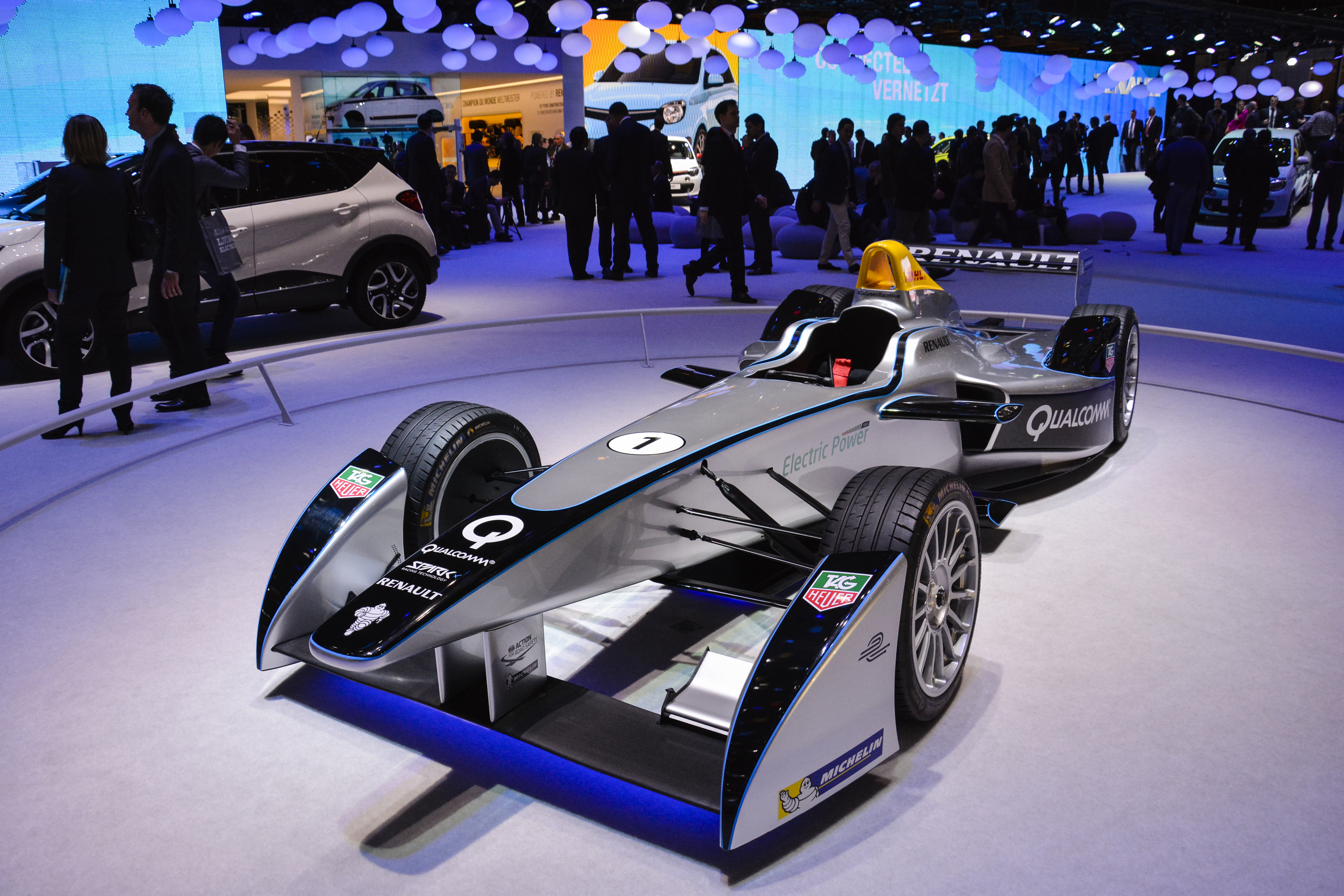 Electric formula 1 car