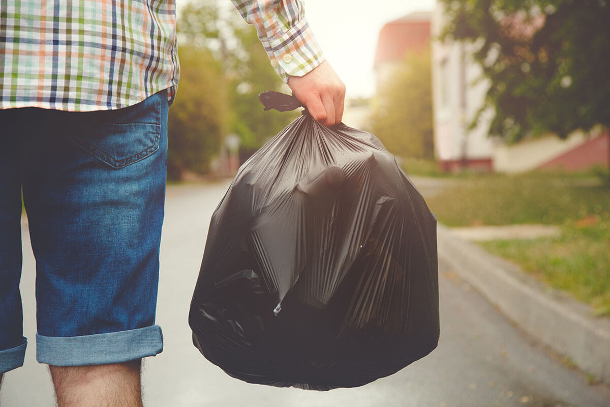 The Impact of & Alternatives for Plastic Trash Bags