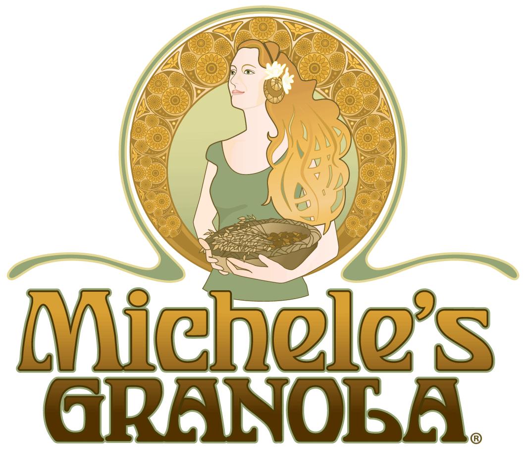 micheles granola logo color